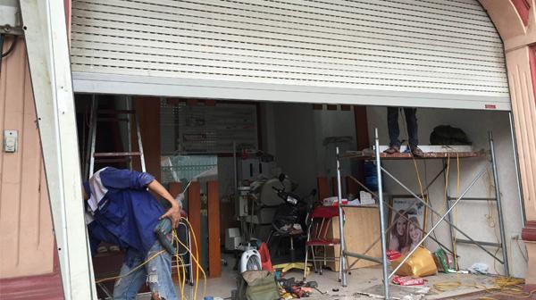 Sửa chữa cửa cuốn tại Khương Đình