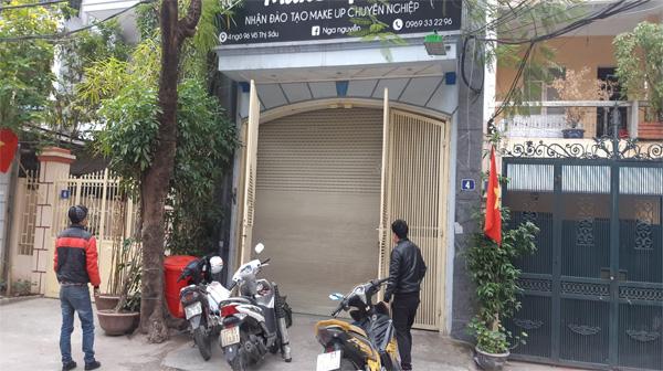 Sửa chữa cửa cuốn tại Nhân Chính