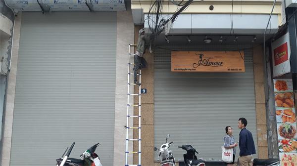 Sửa chữa cửa cuốn tại Phương Liệt