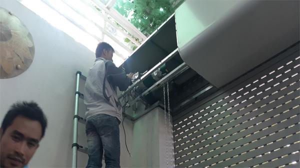 Sửa chữa cửa cuốn tại Thanh Xuân Bắc