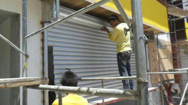 Sửa chữa cửa cuốn tại Thượng Đình
